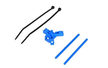 04961 antenna support for tailboom blue