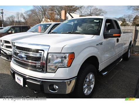 2013 ford f150 4x4 for sale 2013 ford f150 xlt supercab 4x4 in oxford white d12207
