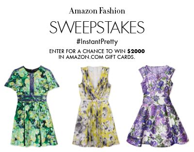 Https Truart Co Enter Amazon Sweepstakes - amazon fashion instantpretty sweepstakes enter online sweeps