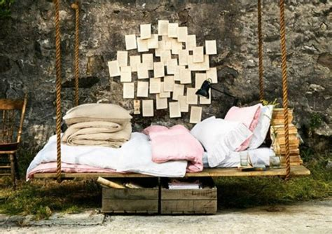 pallet swing bed diy pallet swing beds bring relaxation to your home
