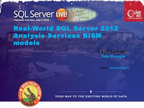 Bism Ms real world bism in sql server 2012 ssas