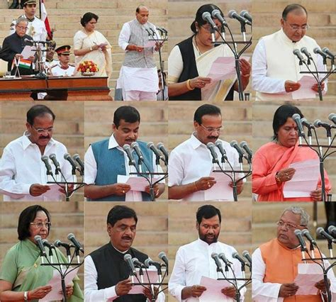 team modi list of council of ministers