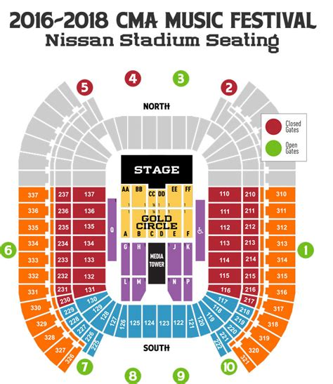 O2 London Floor Plan maps amp more 2017 cma music festival 2017 cma music festival
