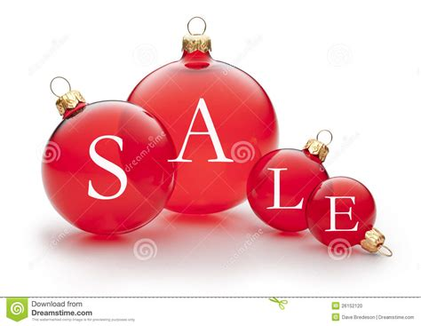 christmas holiday sale ornament stock photo image 26152120