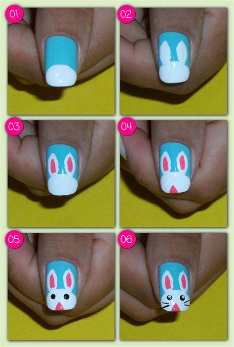 tutorial nail art pascoa make coisa e tal not 237 cia tutorial nail art especial