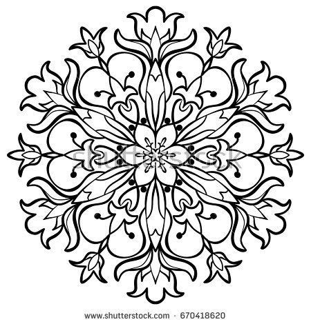 weave tattoo designs flower mandala decorative ornaments anti stress