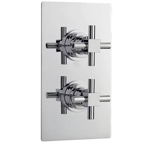 2 Way Thermostatic Shower Valve by Ultra Titan Concealed Thermostatic Shower Mixer Valve