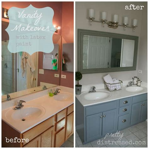 painted bathroom vanity ideas 25 best ideas about bathroom vanity makeover on