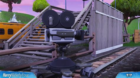 where fortnite cameras fortnite battle royale all cameras locations guide