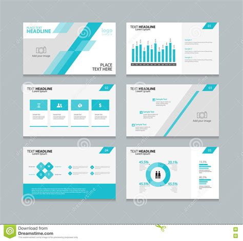 layout design in vector page layout design template for presentation stock vector