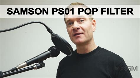 Samson Ps01 Pop Filter 1737 samson ps01 microphone pop filter review
