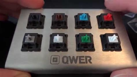 Switch Keyboard a guide to mechanical keyboard switches qwer8 v2 testing