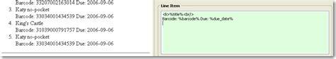 evergreen receipt template macros receipt template editor
