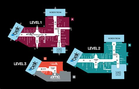 lenox mall map lenox mall map map3