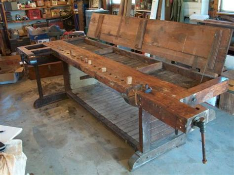 flip top workbench lost art press