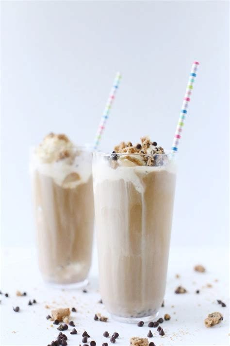 Iced Coffee Float chocolate chip cookie iced coffee float the sweetest