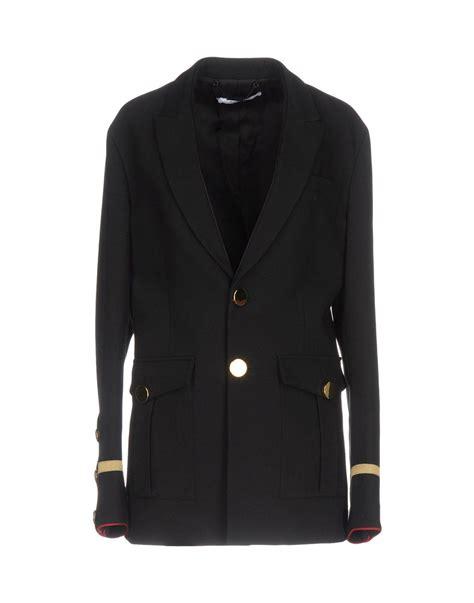 Blazer Black Ddark Style Ks 29 lyst givenchy blazer in black