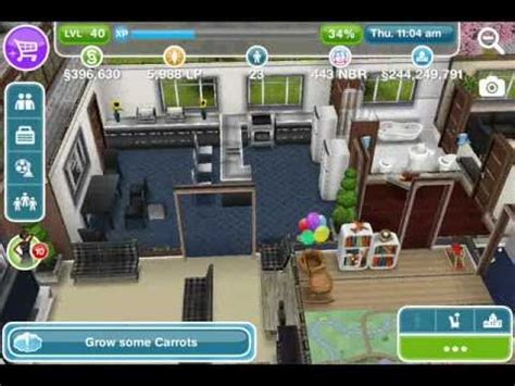 the sims freeplay designed house by player shquita s