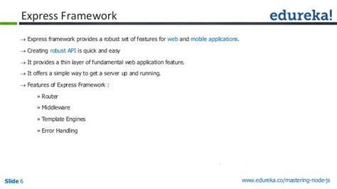 simple node js framework creating a simple restful web app with nodejs express