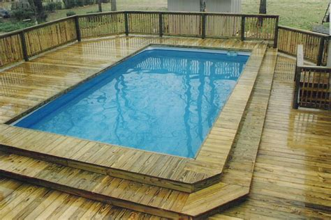 swimming pool decking portable pool deck 6 above ground pools industries