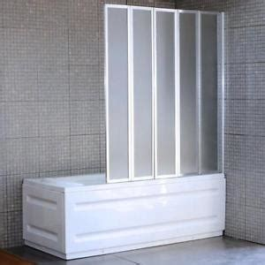 Bi Fold Bath Shower Screen Folding Bath Screens Shower Amp Bath Screens Ebay
