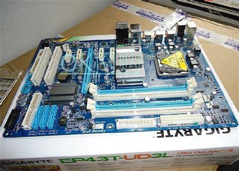 Gigabyte Ga Ep43t Ud3l Ddr3 original motherboard for gigabyte ga ep43t ud3l ddr3 lga