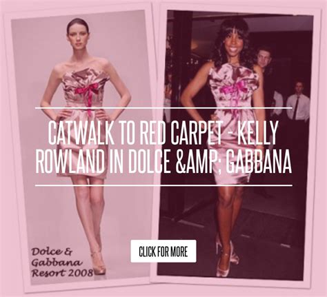 Catwalk To Carpet Alba In Dolce Gabbana by Catwalk To Carpet Rowland In Dolce Gabbana