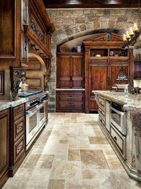 Veneer For Kitchen Cabinets by Fotos Y Modelos De Cocinas Rusticas De Madera Piedra Y