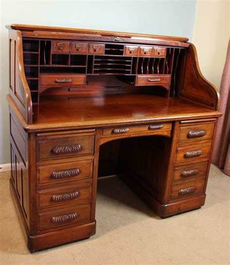 antique roll top desk antique mahogany roll top desk antiques atlas