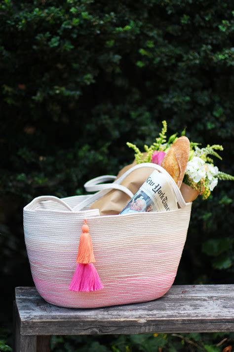 diy diy rope bag