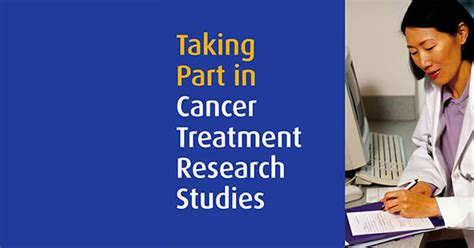 rehab a study books taking part in cancer treatment research studies