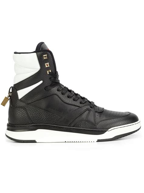 buscemi sneakers mens buscemi 150mm herman sneakers in black for lyst