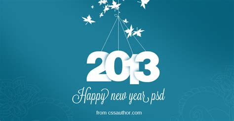 happy new year card templates free new year greeting card psd free freebie no 20