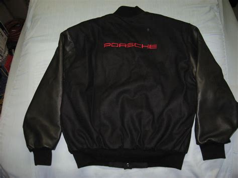 porsche design varsity jacket fs new porsche varsity jacket 100 pelican parts