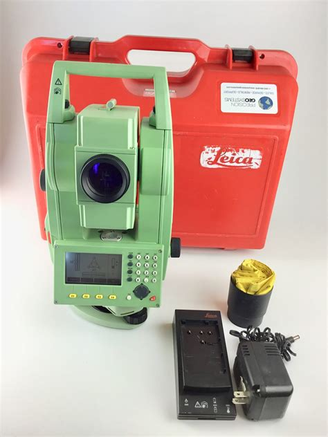 R100 Personal Robot Is So Darn by Leica Tcr 803power 3 R100 Reflectorless Total Station