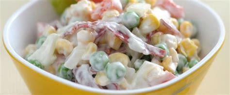 membuat salad sayuran raja kera salad sayuran saus yoghurt