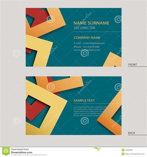 Name Cards Template by Company Name Card Template Business Name Card Template
