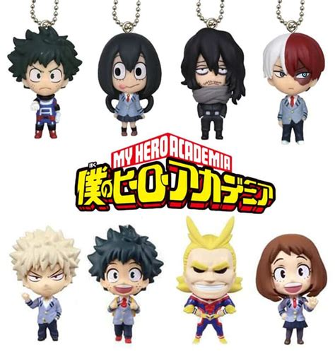 hero academia ochako uraraka figurine ball chain