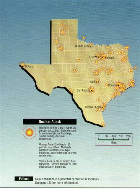 nuclear map emergency preparedness hazard maps