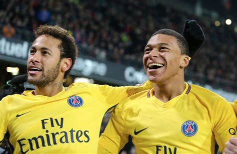 kylian mbappe and neymar neymar jealous of kylian mbappe and wants psg to sell him