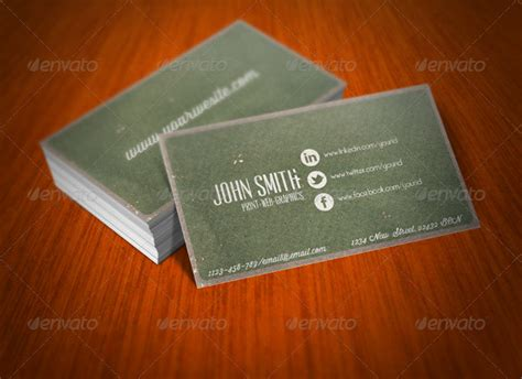 Social Media Business Cards Template by 13 Exle Of Social Media Business Card Free Premium