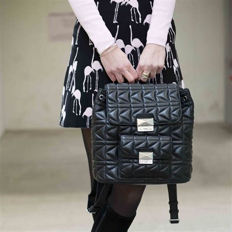 Karl Lagerfeld Says Get A Bag Perhaps From His New Purse Line by Bag At You Fashion Stylish Feminine Backpack Karl