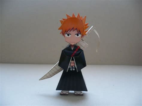 Ichigo Papercraft - ichigo papercraft by savaskul on deviantart