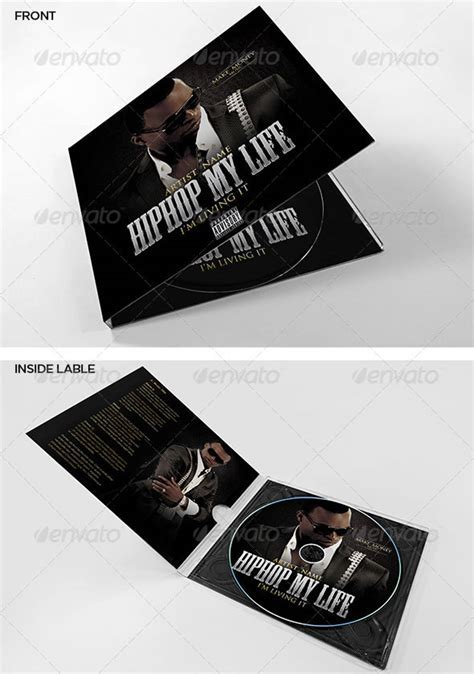 Creative CD & DVD Artwork Template   EntheosWeb