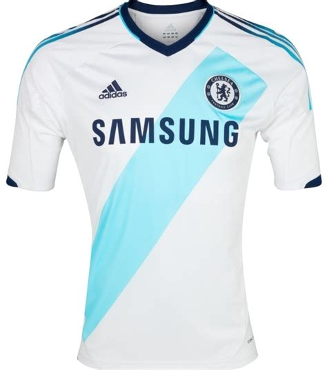 new chelsea away jersey 2012 2013 white adidas chelsea