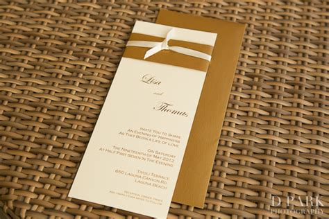Wedding Invitations Gold And White by 5 Gold White Wedding Invitations