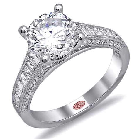 Bridal Engagement Rings by Channel Set Bridal Engagement Rings Demarco Bridal