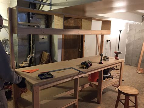 my first work bench my first side project of 2016 building a workbench