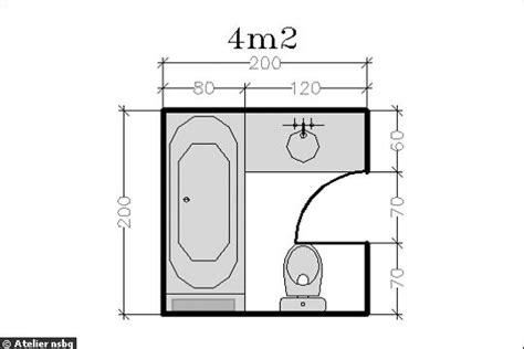 Salle De Bain 3m2 330 by 15 Plans Pour Une Salle De Bains Photo Deco