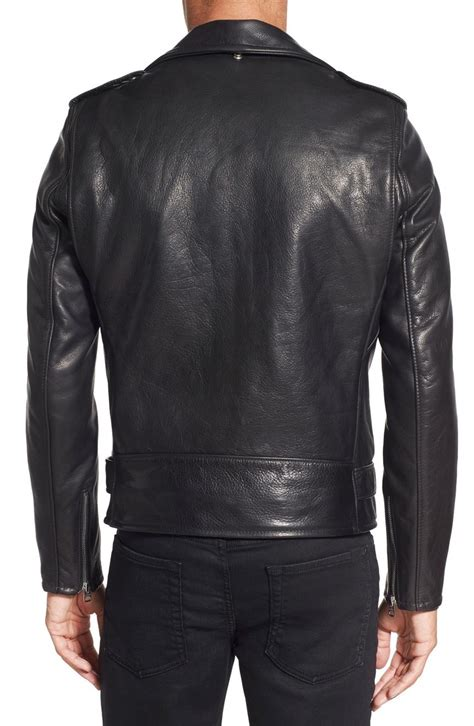 Handmade Leather Motorcycle Jackets - handmade motorcycle genuine leather jacket new black